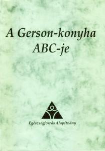 A Gerson-konyha ABC-je